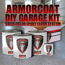 Armorcoat Floor Coatings Kits